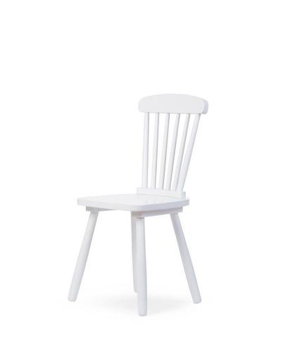 CHILDHOME, ATLAS krzesło dziecięce białe