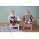 CHILDHOME, fotel wiklinowy dziecięcy MIMO biały