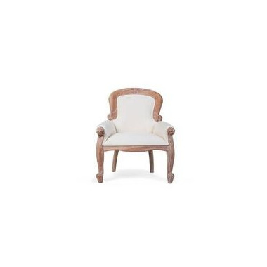 CHILDHOME, fotel dziecięcy Mahogany biały