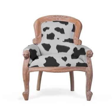 CHILDHOME, fotel dziecięcy Mahogany cow