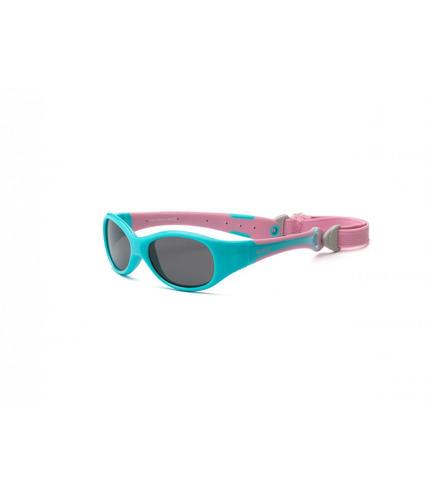 Okulary przeciwsłoneczne,  Explorer Polarized - Aqua and Pink 4+