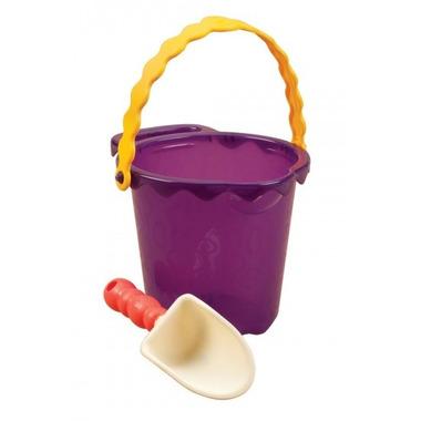 Btoys, wiaderko średnie z łopatką - fioletowe