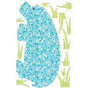 Naklejki wielokrotnego użytku - Egzotyczne zwierzęta (kolorowe)