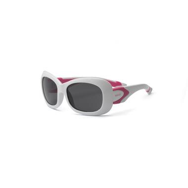 Okulary przeciwsłoneczne,  Breeze Polarized - White and PInk 4+