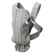 BabyBjorn, MINI 3D Jersey – nosidełko, Jasny szary