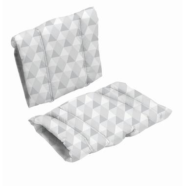 BabyDan, Poduszka do krzesła DanChair - HARMONY - szary