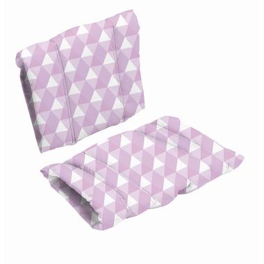 BabyDan, Poduszka do krzesła DanChair - HARMONY - fioletowy