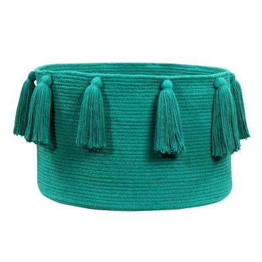 Lorena Canals, Basket Tassels Emerald