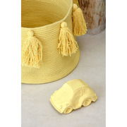 Lorena Canals, Basket Tassels Yellow