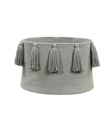 Lorena Canals, Basket Tassels Light Grey