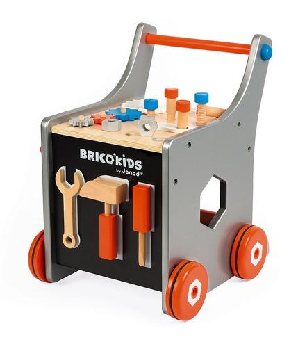 Janod, Wózek warsztat magnetyczny z narzędziami Brico 'Kids kolekcja 2018