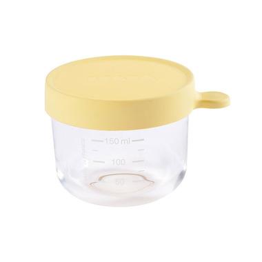 Beaba, Pojemnik słoiczek szklany z hermetycznym zamknięciem 150 ml yellow
