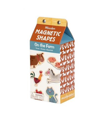 Drewniane magnesy – zwierzęta