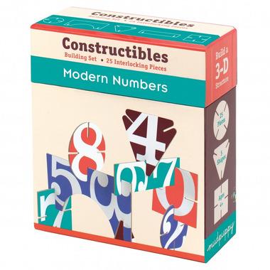MUDPUPPY Puzzle konstrukcyjne 3D - Nowoczesne cyfry