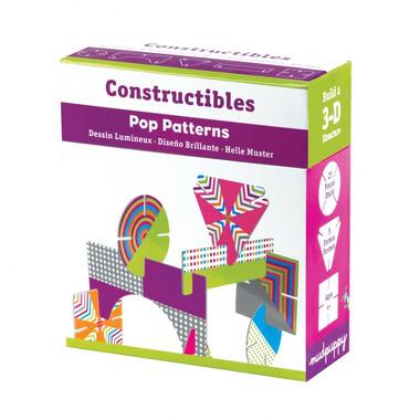 MUDPUPPY Puzzle konstrukcyjne 3D - Sztuka nowoczesna