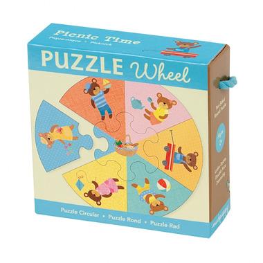 MUDPUPPY Puzzle koło - piknik