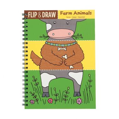 MUDPUPPY Zeszyt do nauki rysowania - Zwierzęta na farmie