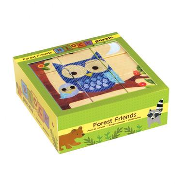 MUDPUPPY Puzzle 9 kostek - Leśni przyjaciele