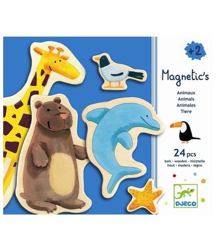 Magnetyczne zwierzęta Djeco