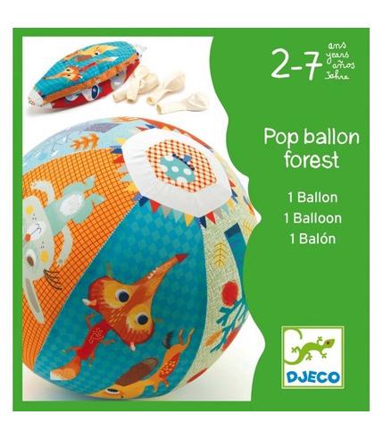 Zwierzęta leśne zestaw balonów Djeco