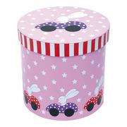 JaBaDaBaDo, okrągłe pudełka różowy królik