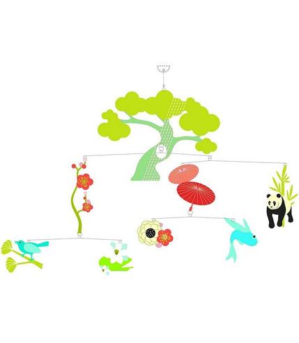 Mobil - Zwierzęta z Azji Djeco