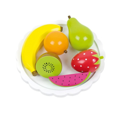JaBaDaBaDo, drewniany talerz z owocami