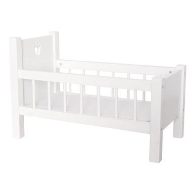 JaBaDaBaDo, drewnine łóżeczko dla lalek z materacem