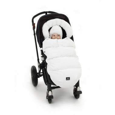 Elodie Details - śpiworek do wózka White Edition