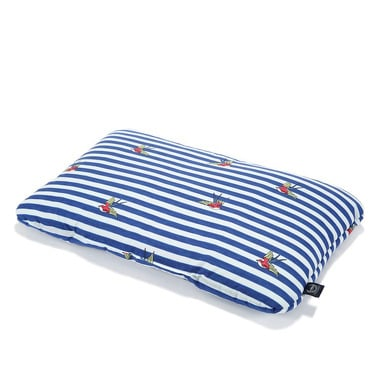 La Millou, BAMBOO BED PILLOW - 40x60cm - BARBER SAILOR STRIPS