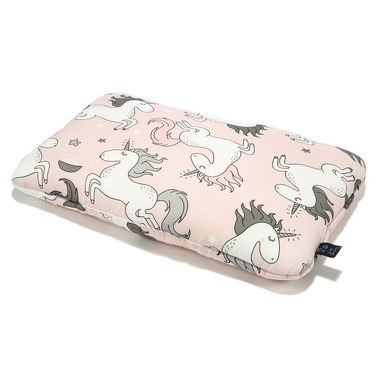 La Millou, BY MAJA BOHOSIEWICZ - BAMBOO BED PILLOW - 40x60cm - UNICORN SUGAR BEBE
