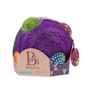 Btoys, ballyhoo Balls - kombinacyjny zestaw sensoryczny - kula z piłkami