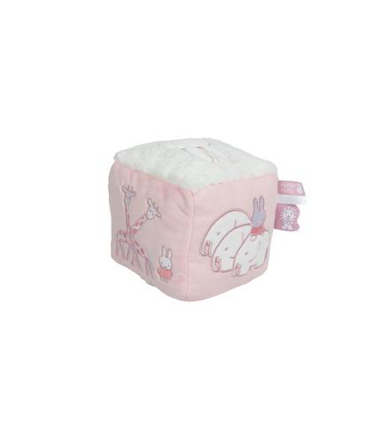 Tiamo-Miffy, miffy Safari kostka edukacyjna Różowa