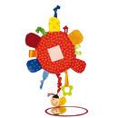 SIGIKID Aktywizujące lusterko Kwiat z gryzakiem, grzechotką, piszczałką, wibracją i szeleszczącą folią 3m+ PlayQ
