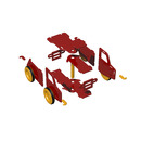 Moover Toys Duży Samochód do Jeżdżenia Czerwony