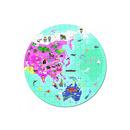 Janod, puzzle Mapa 208 el.