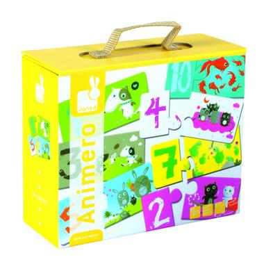 Janod, puzzle edukacyjne do nauki liczenia
