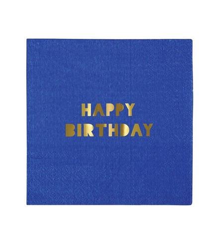 Meri Meri, serwetki Happy Birthday