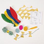 Meri Meri, zestaw balonów z ozdobami Multikolor