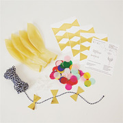 Meri Meri, zestaw balonów Konfetti multikolor
