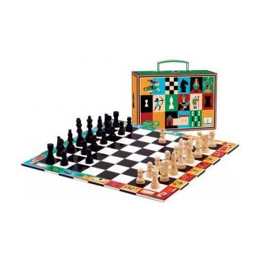 Djeco, szachy w walizce