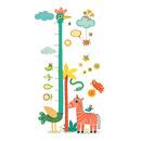 Naklejka z miarka wzrostu żyrafa Djeco