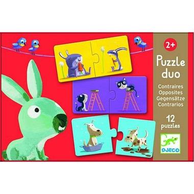 Djeco, puzzle Duo dla maluchów