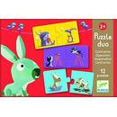 Puzzle Duo dla maluchów  Djeco