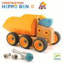 Skręcana wywrotka Hipopotam Hippo Djeco