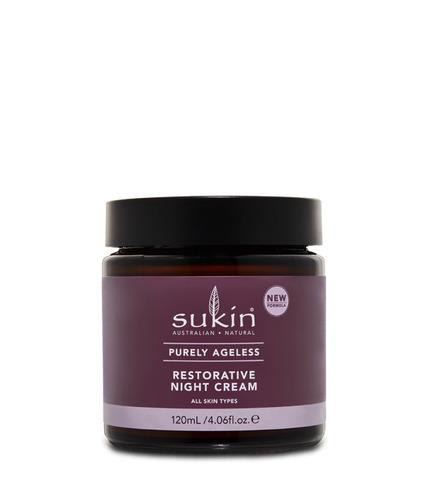 Sukin, PURELY AGELESS Regenerujący krem na noc, 30ml