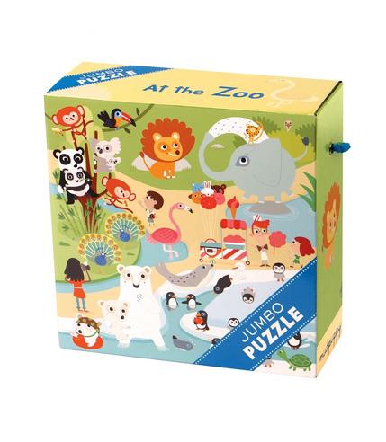 MUDPUPPY Puzzle JUMBO – 25 elementów-Zoo