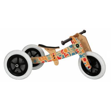 Drewniany rowerek biegowy Wishbone 3w1 -  Alfabet